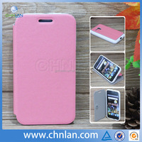 Ultra Slim Folio Cover Leather Cell Phone Wallet Case With Stand Protective Shell For Alcatel OT 5038E