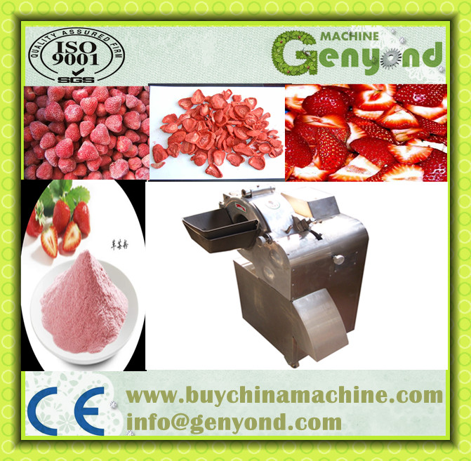 Automatic Industrial Strawberry Dicer