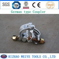 WEIGU brand German type non slip coupler 1.2kg frangle nut
