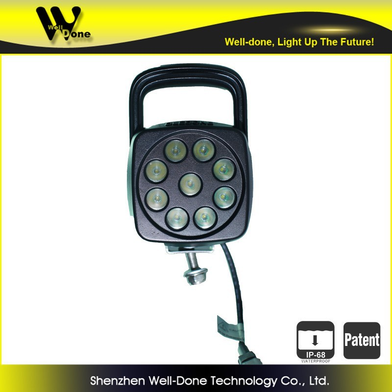 LED work light, motocycle spare parts lighting IP68