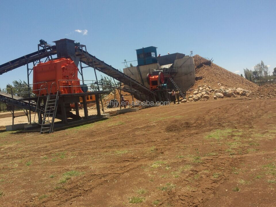 Gravel Crushing Plant with cone crusher