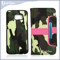 Best quality printing leather flip case for samsung S5 2 in1 sublimation phone case