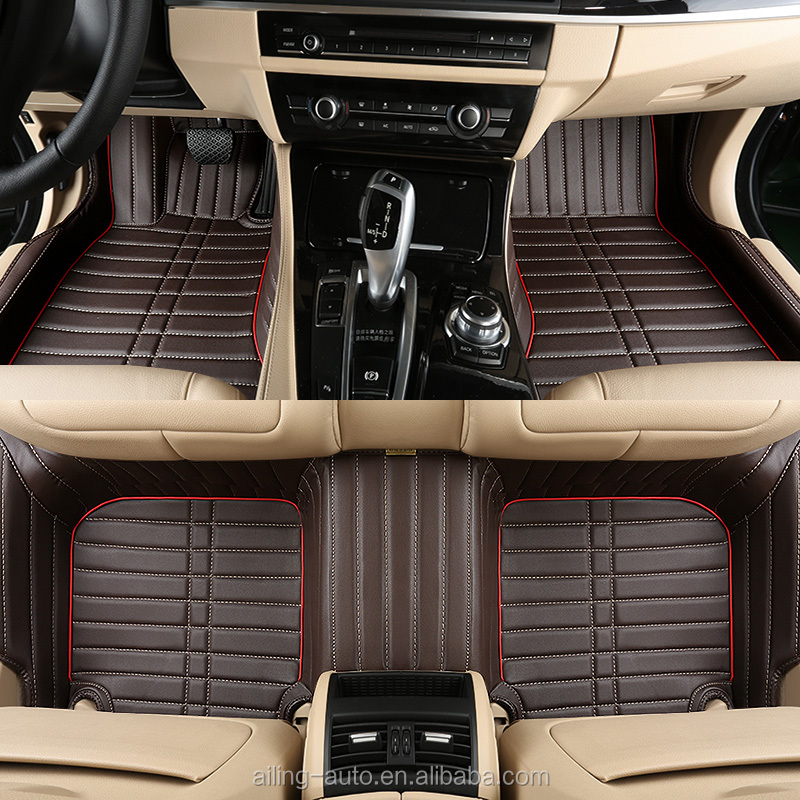 professional manufacture car accessories wholesale anti slip PVC 3D car mat