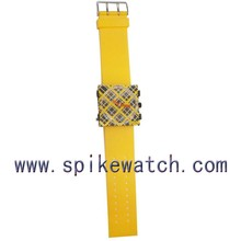 China Supplier Thin Rubber Strap Quartz Stamp Watch Children Wrist Watches