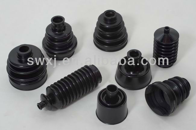 NBR or neoprene or EPDM auto rubber dust boot