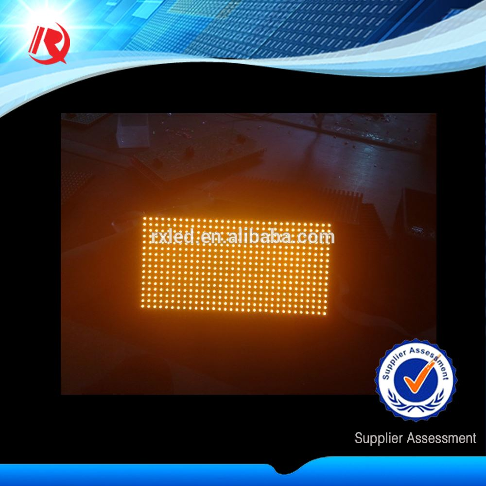 Hot China Factory Iran Trust Brand R Outdoor Single Red Color LED Display Module P10