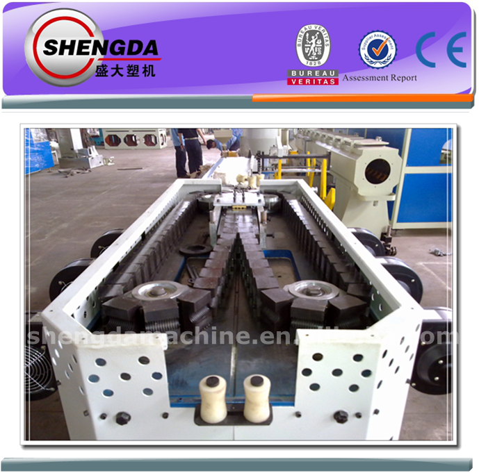 China Single-wall Corrugated Duct Producing Line