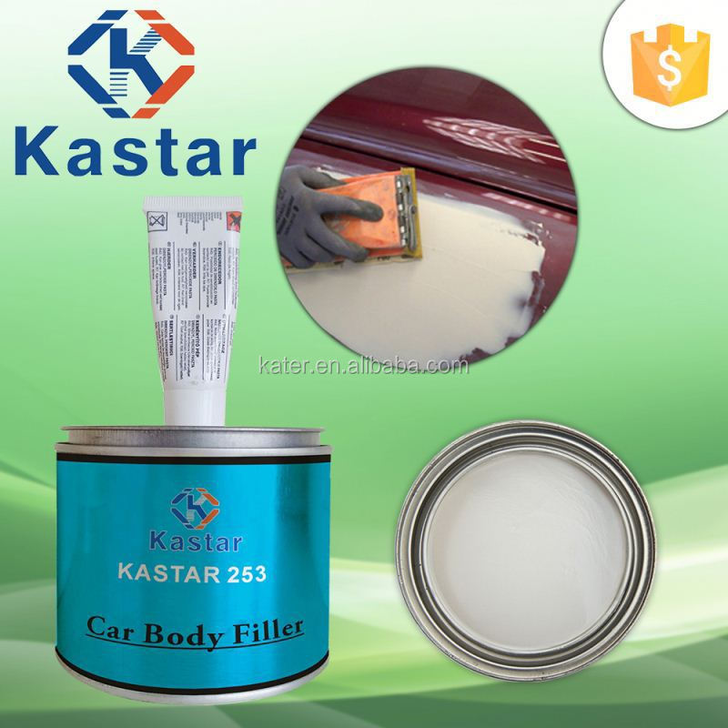 plastic body filler adhesive for maintaining