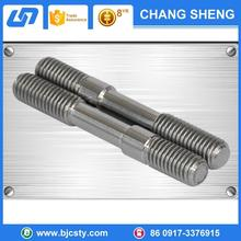 factory price titanium material double end studs for wholesales