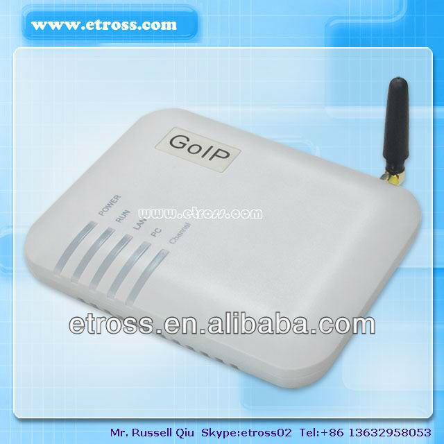 Wholesale 1 Port GSM VOIP / Goip Gateway for call termination