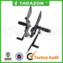TARAZON CNC Adjustable Aluminum Footpeg Rearset For SUZUKI GSXR1000