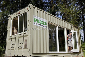 20ft modified container house