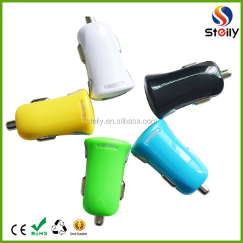 High Quality 5V/3.1A car charger USB.USB Car phone Charger