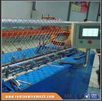 China manufacture fully automatic chain link fence machine