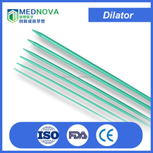 Dilator for dilation of the ureter prior to ureteroscopy and/or stone manipulation