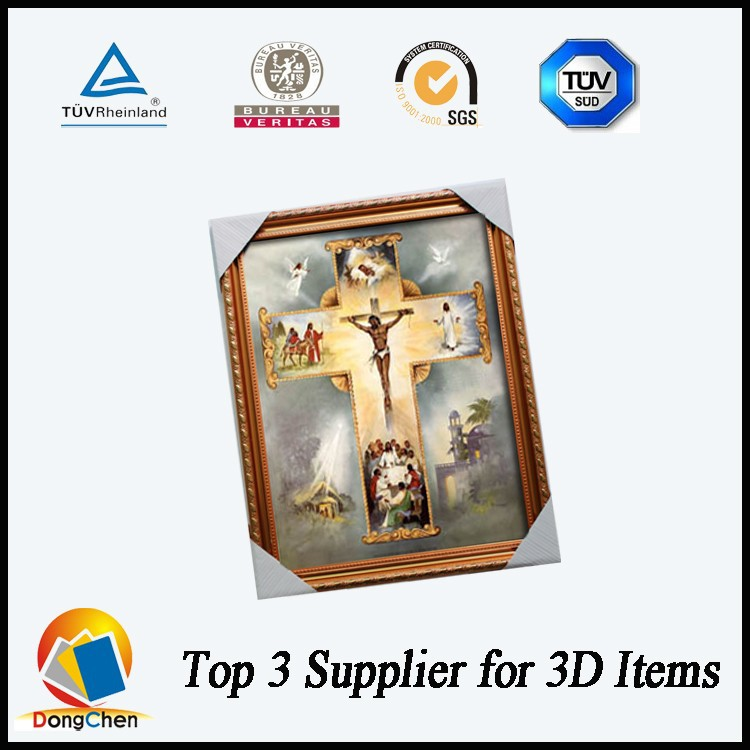 High resolution jesus image 3d picture for home decoration