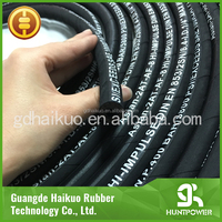 New Products Brand Names Steel Wire Reinforced Braid Rubber Hydraulic Hose