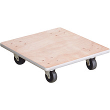 with wheels flower wooden moving pallet cart