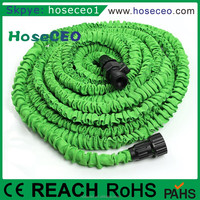 Plastic Contractible Rubber Water Pipe Hose Expandable With Brass Fittings