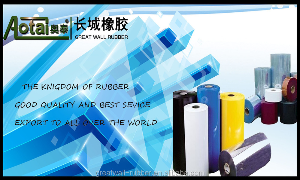 GREAT WALL RUBBER produce Good wear-resistance Fine Fluted Rubber flooring mat/rubber mat