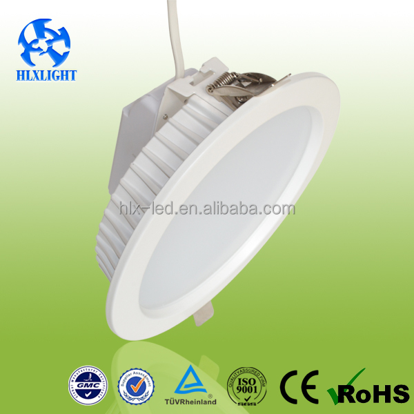 Hot sell 15W round white Led down Light led ceiling light fitting downlight components with factory price