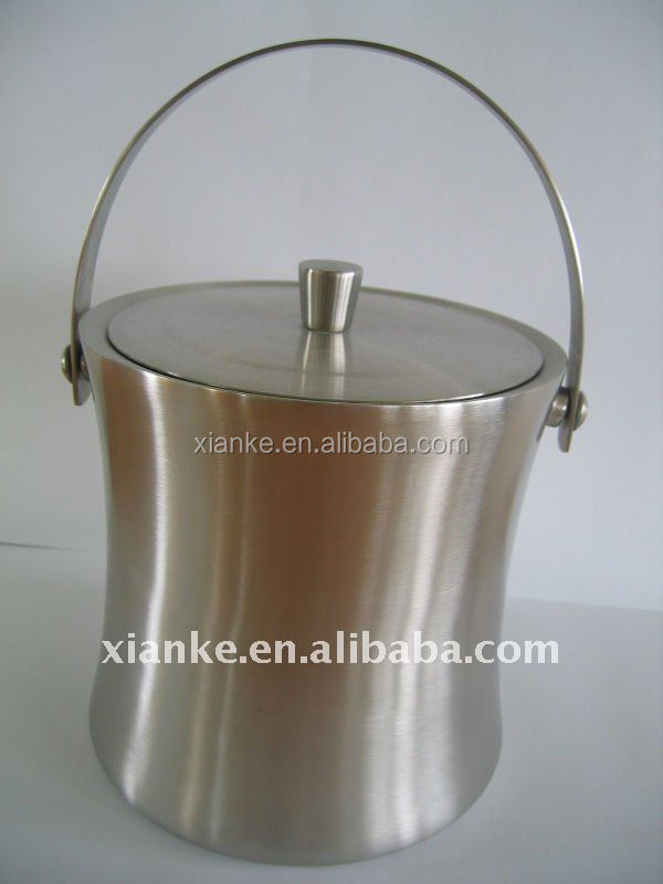 Top Quality Double wall 2L stainless steel wine bucket cooler