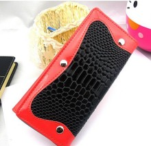 Zeyo hot selling promotional genuine snake leather wallets