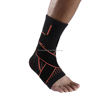 Neoprene foam basketball soccer compression ankle protector support socks padded brace strap band manufacturer for fixness gym