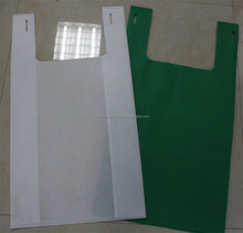 hot sale factory price pp spunbond bags pp woven nonwoven shopping bags with handle drawsting