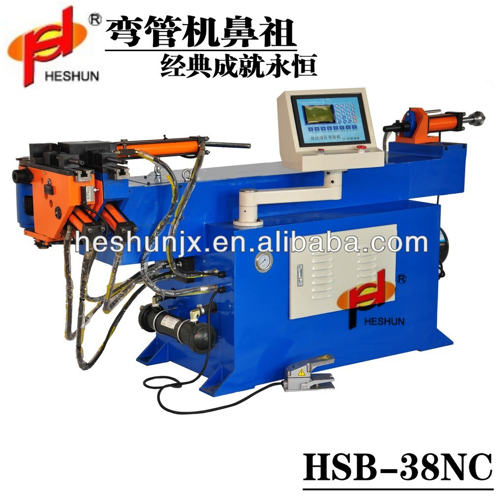 Automatic hydraulic tube bending machine tool