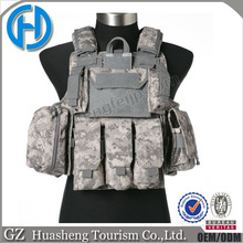 Army combat police paintball vest for body protection