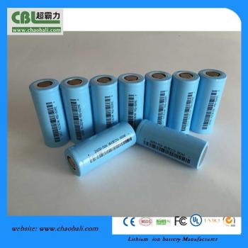 26650 3.7V 5000mah Li-ion cells lithium-ion moli imr-26700a battery cells