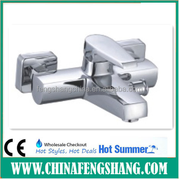 ceramic core bathroom bath and shower mixer faucet