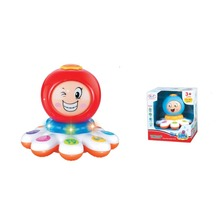 Education Toy Electric Changing Faces Octopus With Light and Music