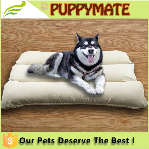 Pet Mat Polyester Plush ThermoCore Dog Cat Bed Wash Indoor Soft Foam
