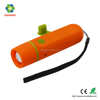 palstic dynamo flashlight USB charge power rechargeable torch