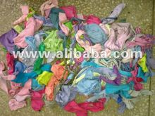 COTTON LIGHT COLOR HOSIERY CLIPS/ TEXTILE WASTE