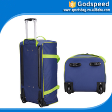 best hard case golf travel bag colourful travel trolley luggage bag