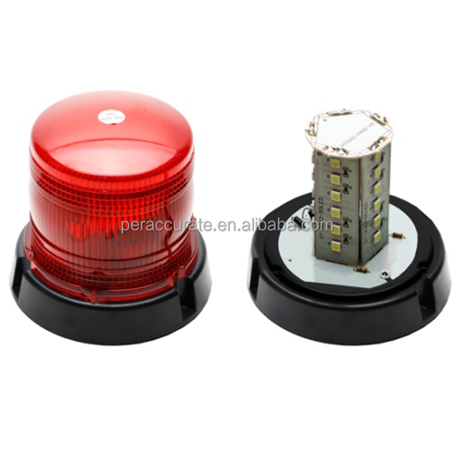 LED High Intensity Emergency Vehicle Rotating Beacon Dome Light PA