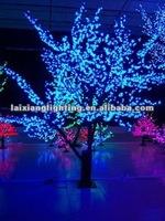 Colorful Waterproof decorative indoor light up tree on wedding red carpet edge