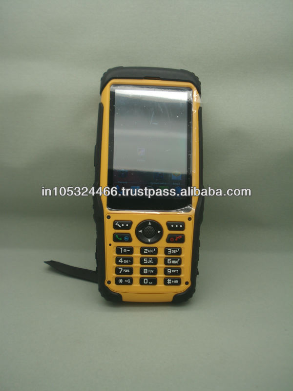 S200 Rugged rugged android rfid phone with 3G barcode scanner
