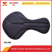Cycling pad Gel bike pad chamois cycling pad of short for running swim cycling cheap price and good quality