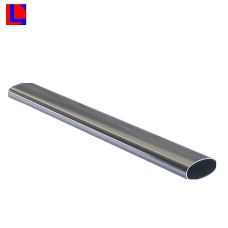environment friedly Extruded aluminum oval tube manufacturer normal anodized aluminum oval pipe
