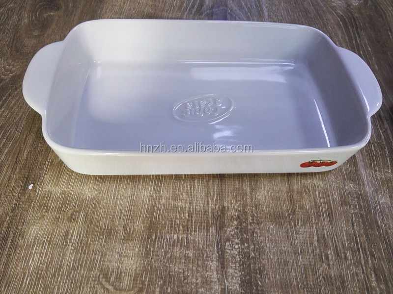 Wholesale Modern Life Glazed Ceramic Bakeware