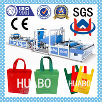 2015 serious Full automatic printed T-shirt bag making machine