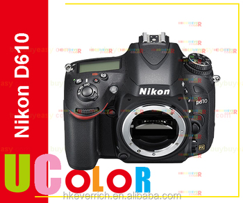 Genuine New Nikon D610 24.3 MP CMOS FX-Format Digital SLR Camera (Body Only) Multi-language internation Version