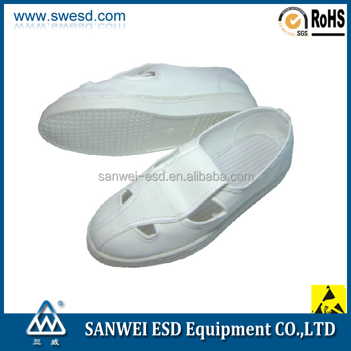 Antistatic Leather shoes With ESD Insole