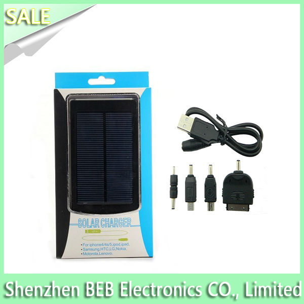 Universal solar panel battery charger 5.5v for mobilephone