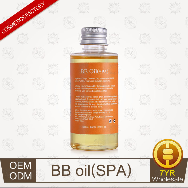 100% Pure Plants Extracts BB Oil(SPA) Ginger Essential Oil Professional Supplier