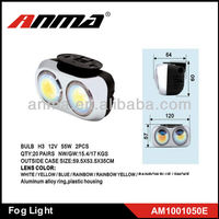 2 PC H3 12V 55W truck hid fog lights 2014 new style